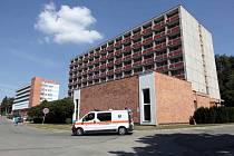 Areál krajské nemocnice T. Bati.