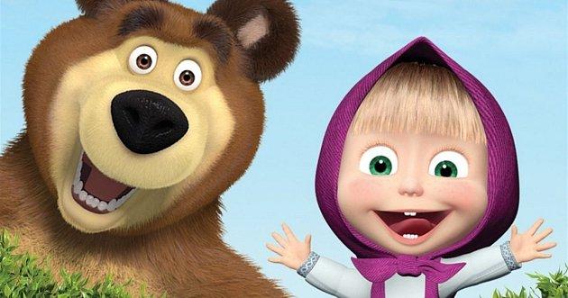 Máša a medvěd.