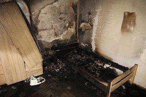 Děti přiběhly do ložnice, že jim hoří v pokojíčku.