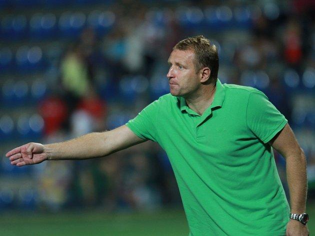 Fotbalový trenér Aleš Křeček