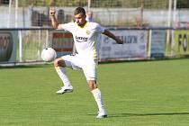 Záložník Zlína B Martin Nečas se proti Hlučínu uvedl jedním gólem.