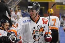 Michal Rudecký z vysokoškolského hokejového týmu Univerzity Tomáše Bati