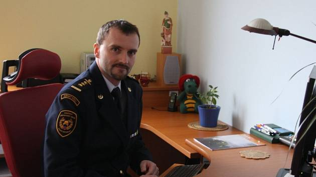 Nový ředitel hasičského záchranného sboru Zlínského kraje  – Vít Rušar