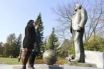 Starostka města uctila památku Tomáše Bati.