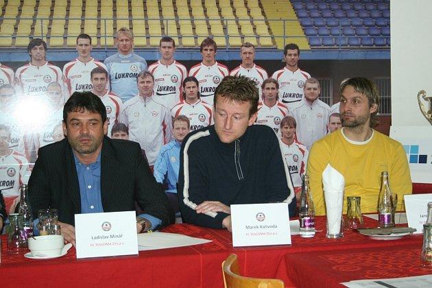 Na snímku zleva - Ladislav Minář, Marek Kalivoda, Jaroslav Švach.