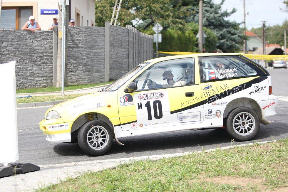 V rámci 49. ročníku Barum Czech Rally Zlín se jel vložený závod Rally Historic.