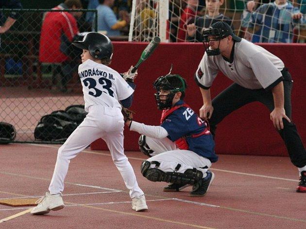 Baseballový turnaj dětí do 12 let v Otrokovicích