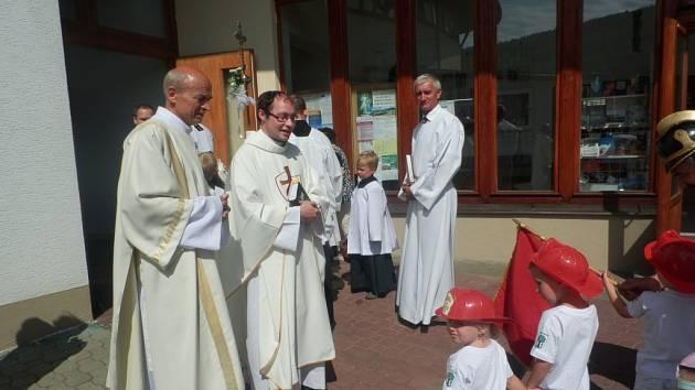 V Luhačovicích se v neděli 10. července konala tradiční pouť