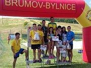 Valašský triatlon družstev 2017