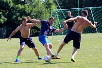 Hokej PSG Berani Zlín, fotbal příprava hřiště Mladcová