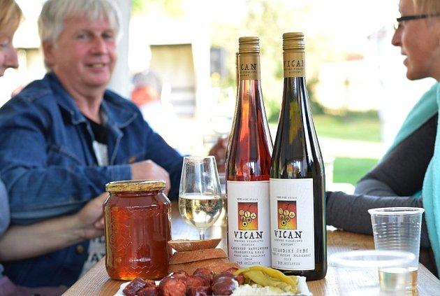 Slavnosti vína. Ilustrační foto.