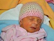 Eliška Novosádová z Doubrav se narodila 20.01.2012, s váhou 1910g, velká 43 cm
