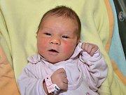 Zuzana Vašíčková z uherského Brodu se narodila 12.02.2012 s váhou 3490g, velká 50 cm