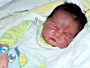 Jindřich Hartig ze Zlína se narodil 4. ledna 2012 velký 53 cm s váhou 4590g