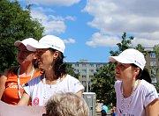 Sokolové z žup našeho kraje se začátkem července zúčastnili celostátního sletu v Praze.