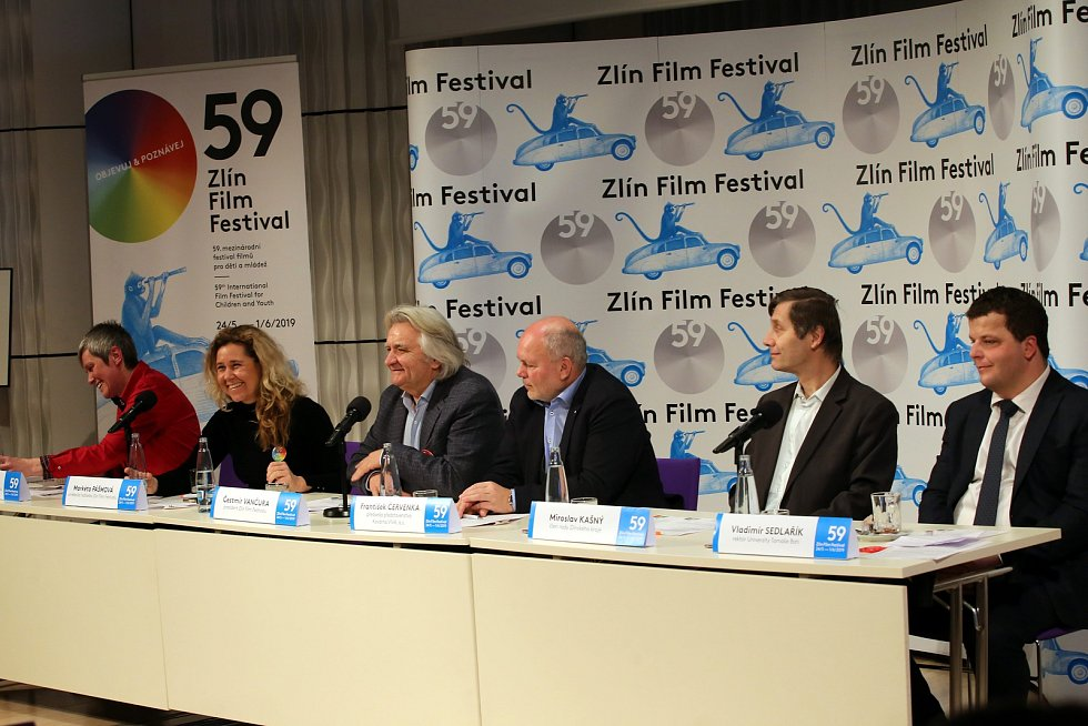 59. ZLÍN FILM FESTIVAL 2019 - Mezinárodní festival pro děti a mládežtisková konference