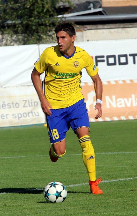 FC  FASTAV Zlín   - FC Zbrojovka Brno. Zorav Gajič