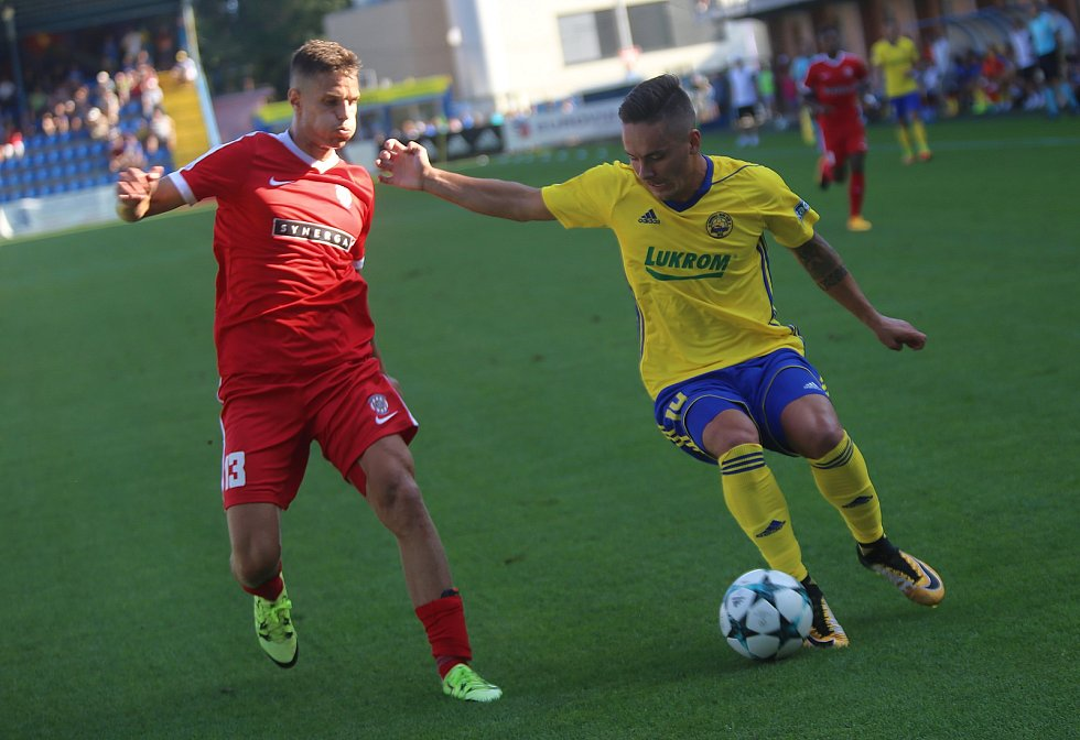 FC  FASTAV Zlín   - FC Zbrojovka Brno. Daniel Holzer