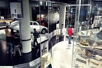 Princip Baťa: Dnes fantazie, zítra skutečnost. Ilustrační foto z muzejní a galerijní noci
