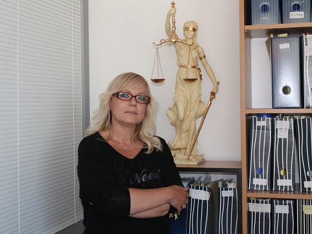 Zlínská advokátka Jana Rejžková.