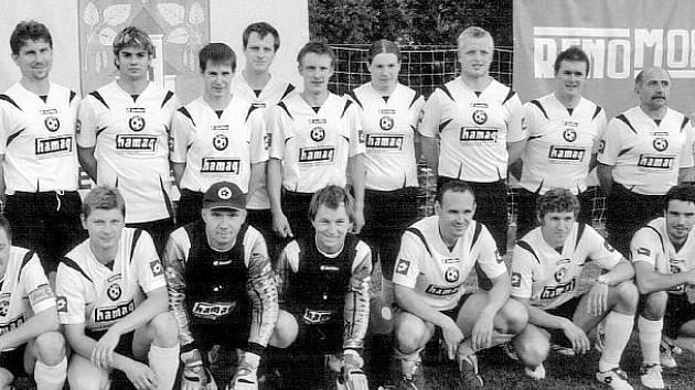 Fotbalisté z Březnice