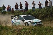 Druhé místo si připsal Jan Dohnal s Fordem WRC
