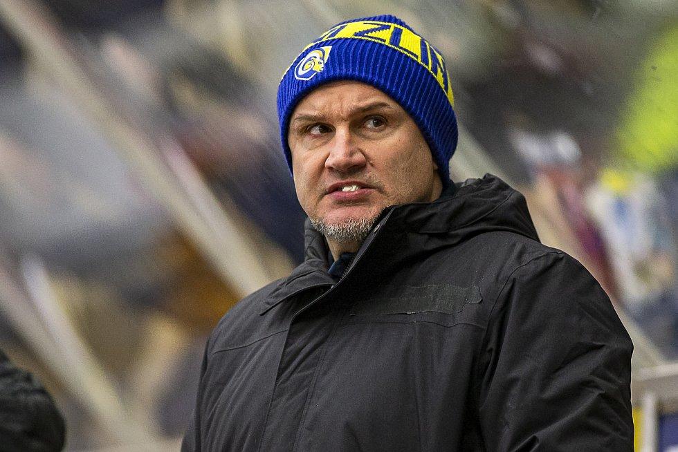 Zlín proti Olomouci. Na snímku asistent trenéra Martin Hamrlík.