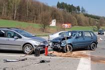 Nehoda ve Zlíně - Vršavě.