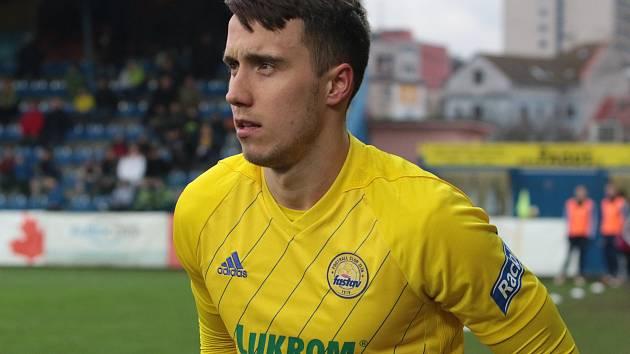 Lotyšský útočník Davis Ikaunieks