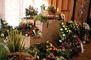 Pohřeb Karla  Pavlištíka v krematoriu na Lesním hřbitově ve Zlíně.