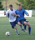 Fotbalisté TVD Slavičín porazili v 1. kole poháru FAČR Viktorii Otrokovice a vyzvou prvoligové Slovácko.