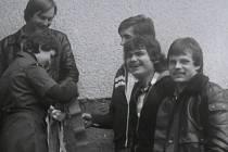 Velikonoce 1981. Repetáci - hrkači.