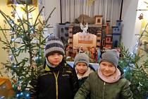 Konec vánoční doby si v Březnici zpestřili Zpíváním u jesliček