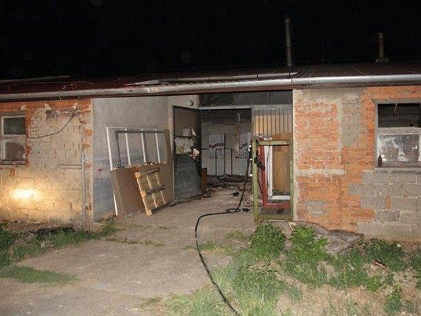 Požár způsobil škodu asi 800 tisíc