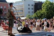 Demonstrace proti vládě Andreje Babiše náměstí Míru ve Zlíně - 11. 6. 2019