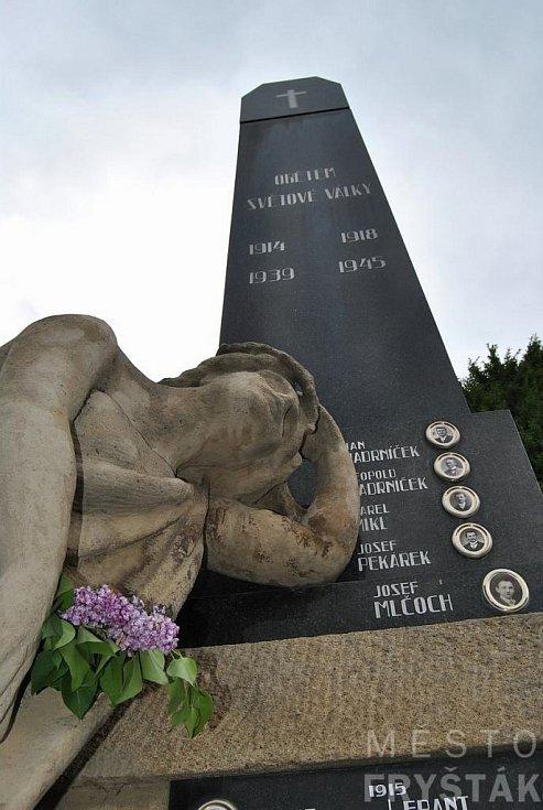75. výročí osvobození města Fryštáku a konec II. světové války.