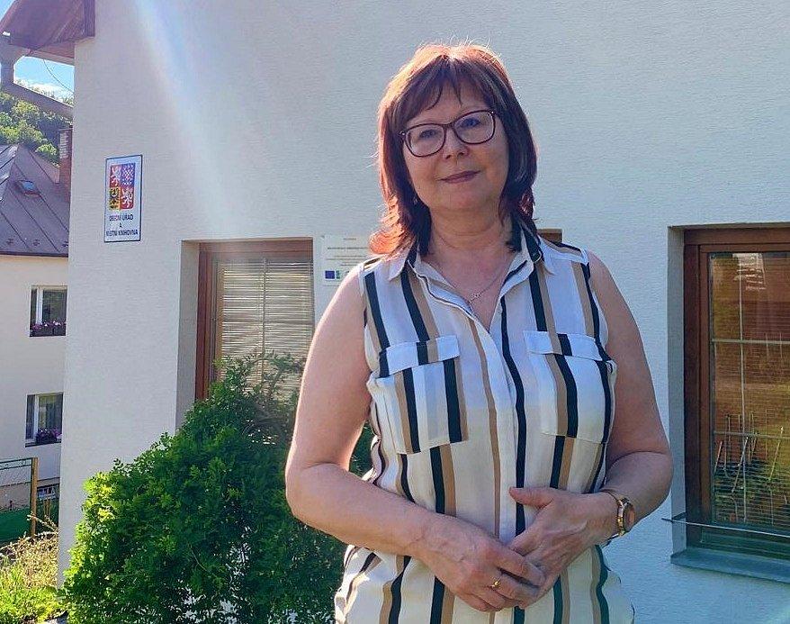 starostka obce Dešná Dagmar Daňková