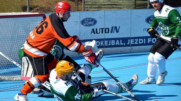 Hokejbal Flyers Jihlava - Malenovice