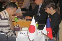 Goista Ondřej Šilt (vpravo) dokázal na mistrovství světa v Japonsku vybojovat sedmou příčku.