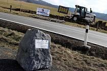 Stavba silnice 1/49 Vizovice – Lhotsko ve Vizovicích. Ilustrační foto