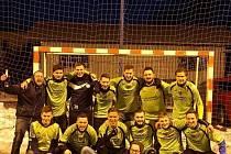 foto vítěz Zimní ligy ve Fryštáku mužstvo Kocoviny