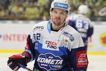 Petr Holík ze Zlína odešel po sezoně 2016/2017. V brněnské Kometě se mu daří nadmíru dobře.
