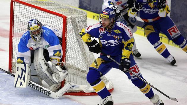 Zlínští hokejisté odehráli ve středu 14. března třetí čtvrtfinálový zápas Tipsport Extraligy s plzeňskými Indiány.