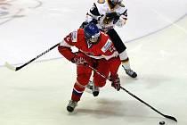 Hokejové reprezentantky ČR do 18 let odehrály ve středu čtvrtfinálové utkání s Německem.