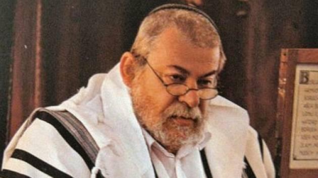 Vrchní zemský rabín Karol Sidon