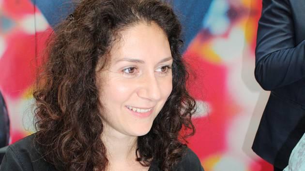 Martha Issová ve Zlíně na FILMFESTu.