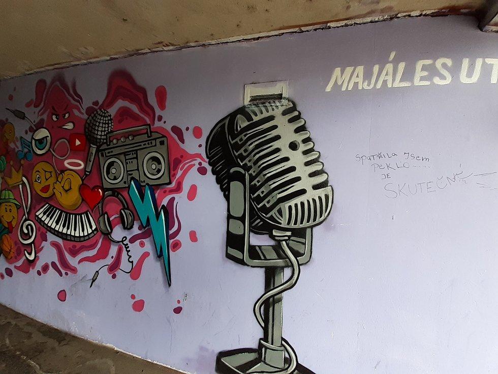 Zlínské graffiti: umění, nádhera i ohavnosti.