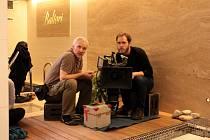 Natáčení seriálu Znamení koně II. ve welnes v hotelu Baltaci ve Zlíně.