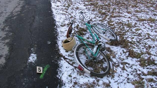 Falešný taxikář srazil cyklistu. Ten nehodu nepřežil.