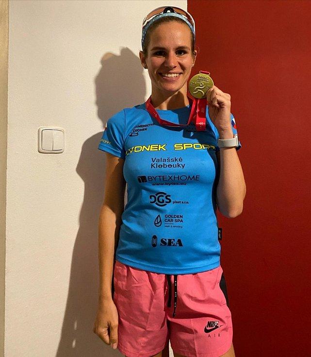 Silvie Zvonková Olympijský běh ve Valašských Kloboukách 2020